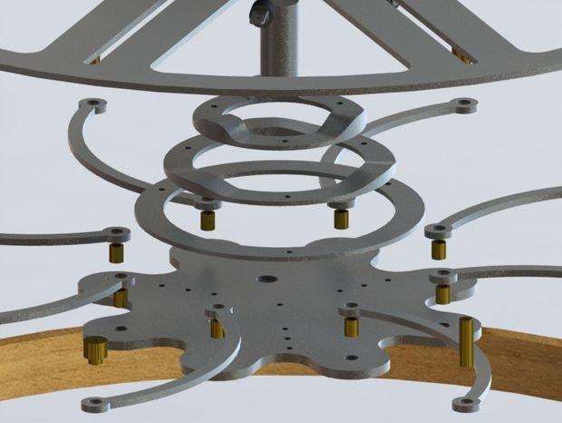 Круглый стол трансформер своими руками чертежи видео