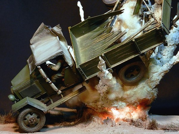 Модели грузовиков своими руками