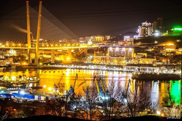 Ночной Владивосток :) Продолжаю делиться своими фотографиями :)  Владивосток, ночь, фото, Моё