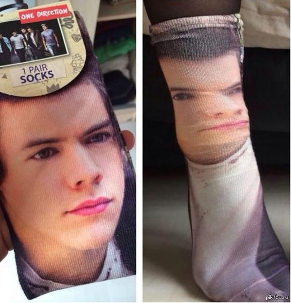 """Купил носки и тут...""   носки, покупка, не мое"