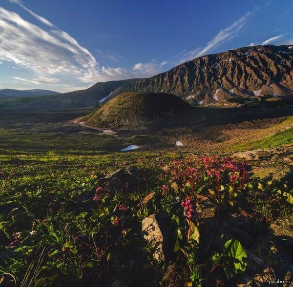 Бурятия. Долина Вулканов.   Бурятия, вулкан