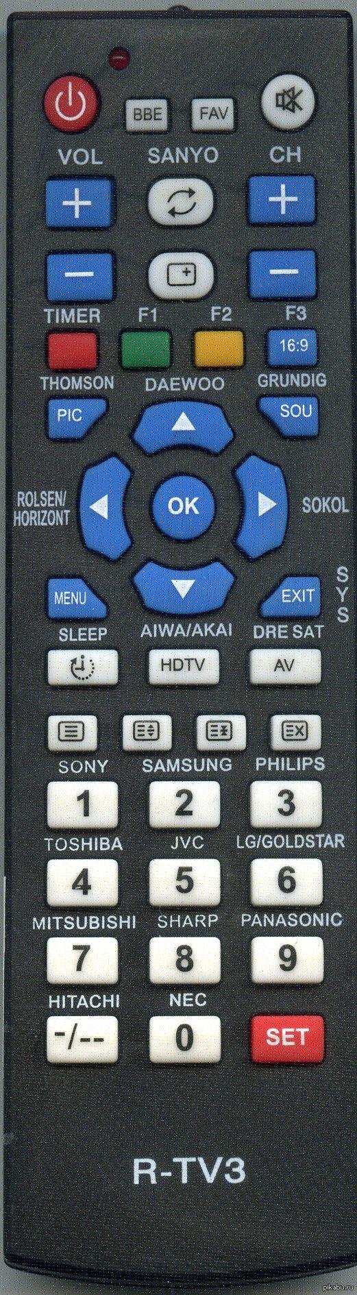 пульт для телевизора сони инструкция