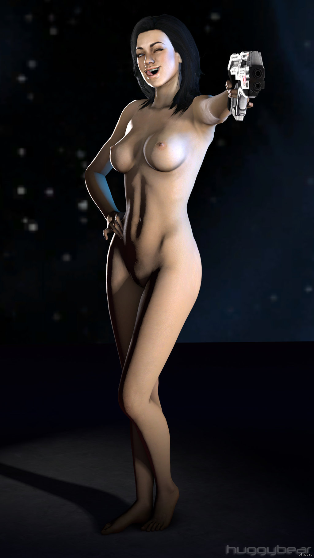Miranda from mass effect 2 nude video  sex clip