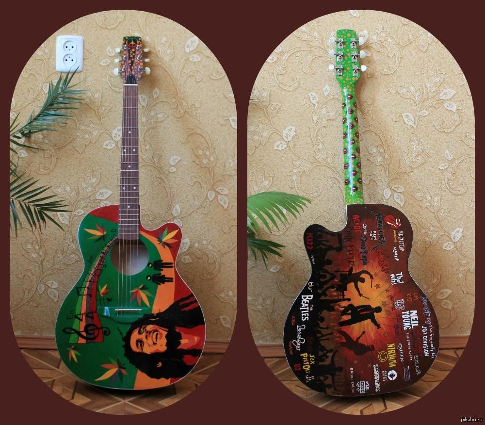 Картинки на гитару своими руками 39