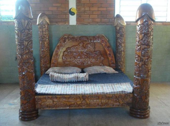 Деревянные кровати своими руками чертежи фото
