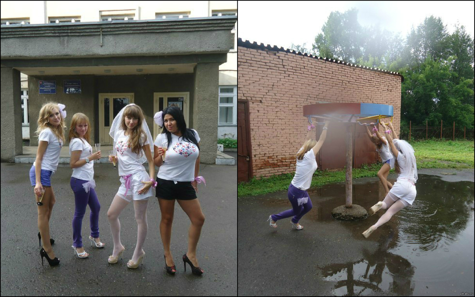 Приколы на женской вечеринке 13 фотография